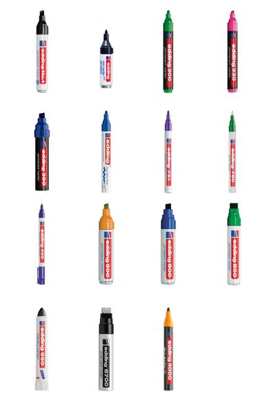 edding-markers