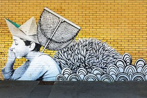 Trinite-Sur-Mer-Street-Art-france
