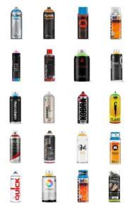 black-spray-paint