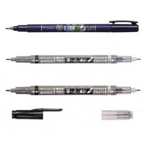 tombow-fudenosuke-brush-pens