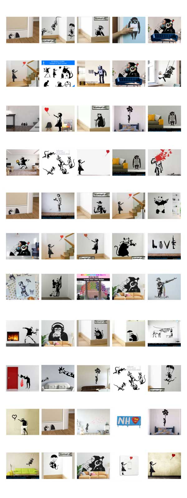 banksy-wall-stickers